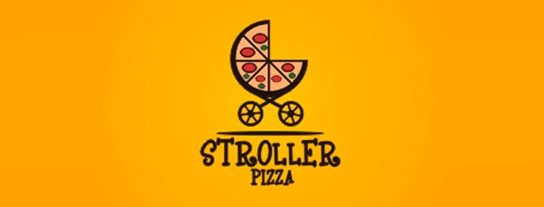 inspiration logo de pizza