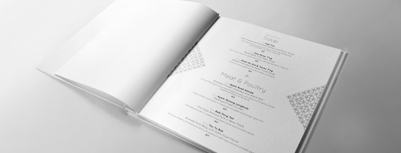 inspiration menu design