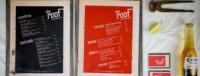 menu de restaurant design