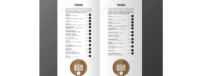 inspiration menu de restaurant