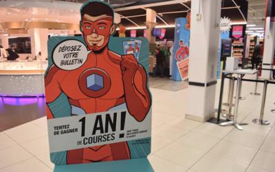 campagne 2016 de super héros pour les enseignes leclerc