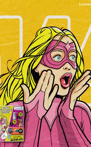 les super pouvoirs d'achat - campagne 2016 leclerc