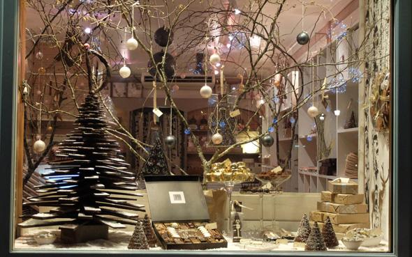 Decoration De Noel Vitrine Boulangerie