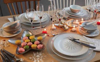 Inspiration 50 déco de table pour Noel pour votre restaurant