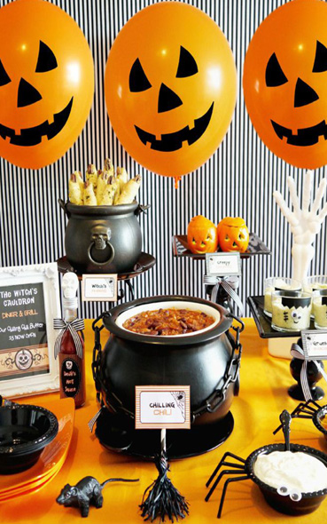 50 d co de table pour halloween s inspirer for Decoration de table pour halloween