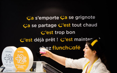 Le nouveau concept du Flunch café