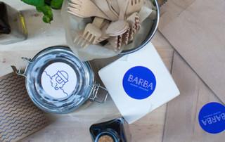 Le coup de coeur du mois - Les identités visuelles du restaurant Barba