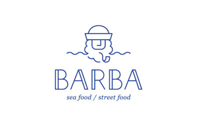 Enseigne restaurant - Les identités visuelles du restaurant Barba - le logo du restaurant