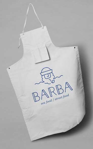 Inspiration de restaurant - Restaurant Barba et ses supports publicitaires