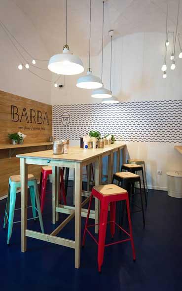 Le coup de coeur du mois - L'agencement du restaurant croate Barba