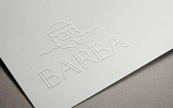 Le coup de coeur du mois - Les identités graphiques du restaurant Barba