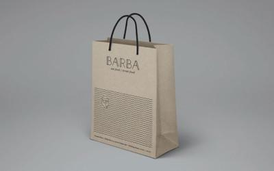 Le coup de coeur du mois - Packaging de restaurant - Le restaurant croate Barba