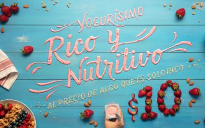 Inspiration de typos design réalisées à partir d'aliments !