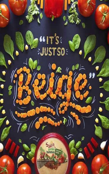Top 60 de typographies design réalisées à partir d'aliments !